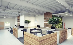 timber office design